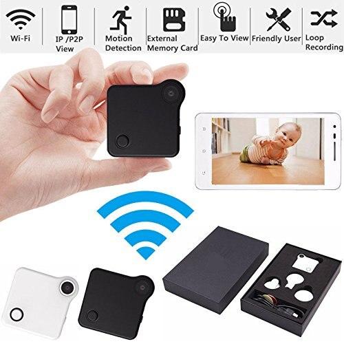 Mini Sans Fil Caméra HD D'action Cam Vélo Caméra DV DVR Vidéo voix Motion Sensor Boucle Enregistreur MP4 H.264 Micro Caméra-Noir