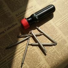 12 In 1 Screwdriver Set Portable Multifunction Tool Metric System Short Model Precision degree right angle driver