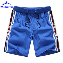 WildSurfer 2019 Men Solid Beach Shorts Quick Dry Surf Sport Pants Surfing Boardshort Bermud Masculina Knickers SP77