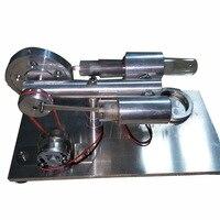 Двигатель Стирлинга внешний газотурбинных миниатюрный генератор подарок на день рождения Модель двигателя двигатель мини