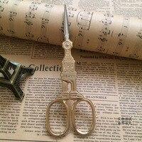 бесплатная доставка 1 х золото/античная биг бен портной ножницы закки вышивка швейные ножницы