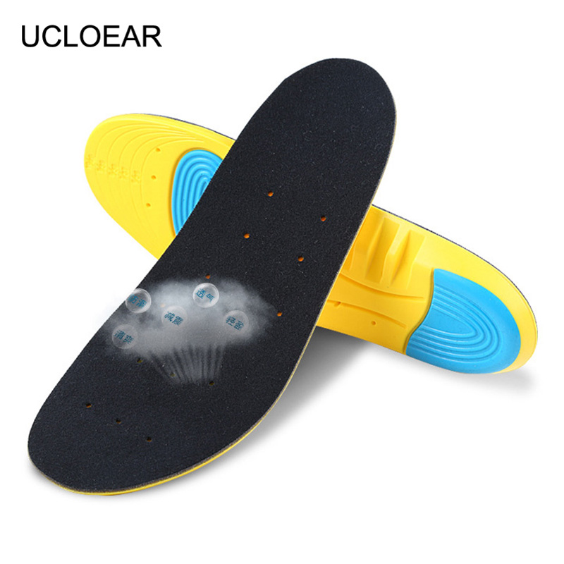 High Quality Insole Sport Breathable Insoles For Shoes Soft Comfortable Outdoor Shoe Insole Non-slip Shoes Pad Men Women XD-049 2016 1 pair large size orthotic arch support massaging silicone anti slip gel soft sport shoe insole pad for man women