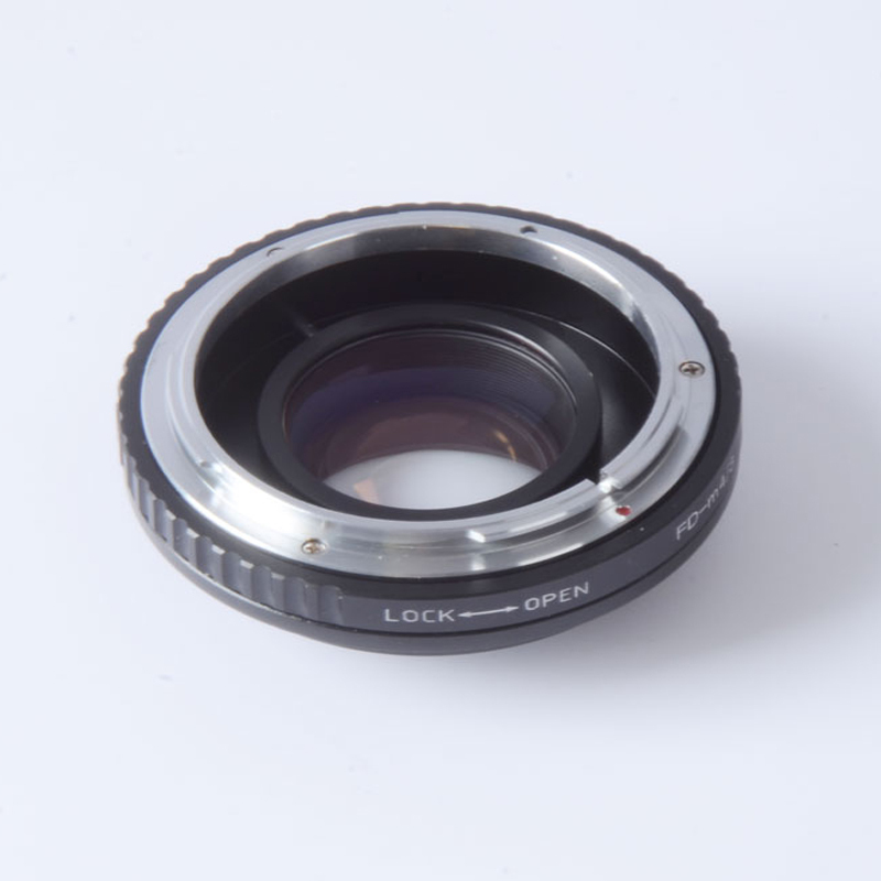 все цены на Focal Reducer speed booster turbo adapter for Canon FD Lens to m4/3 mount camera GF5 GF6 GX7 EM5 E-PL6 E-PL5 E-PM2  OM-D онлайн