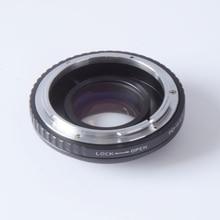 Turbo фокусное Редуктор speed booster адаптер для Canon FD Объектив m4/3 гора камеры GF5 GF6 GX7 E-PL6 E-PL5 E-PM2 EM5 OM-D