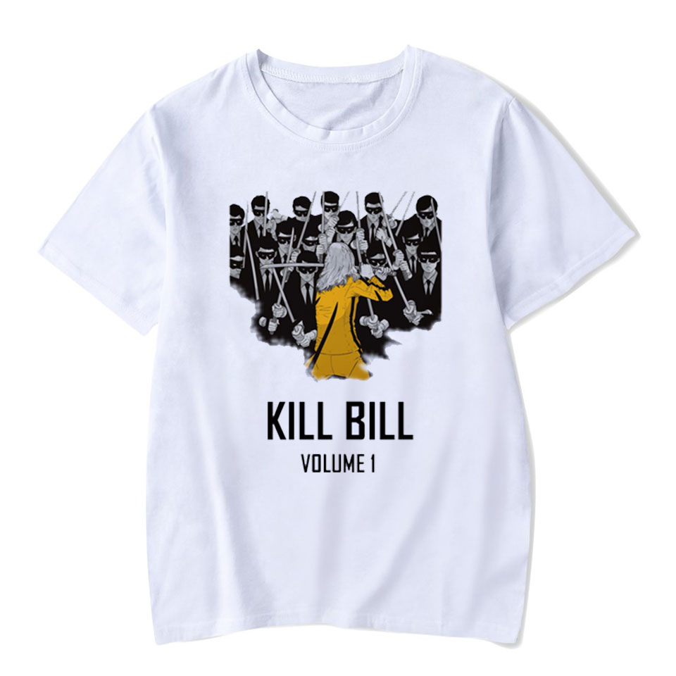 Voltreffer Quentin Tarantino White T Shirt Women Cotton Mia Pulp Fiction Design Short Sleeve Casual Tops Fashion Tee Shirt Femme