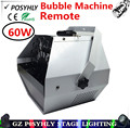 Best price ! Remote 60W bubble machine AC110-220V stage light professional dj equipment