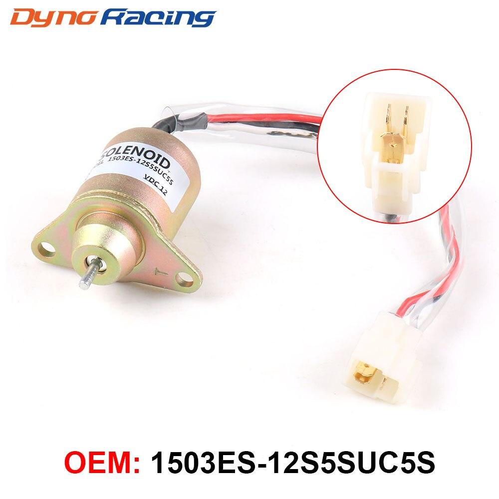 119653-77950 119285-77950 SA-4562T SA-5213 12V válvula de solenoide de cierre de combustible para Yanmar 1503ES-12S5SUC5S