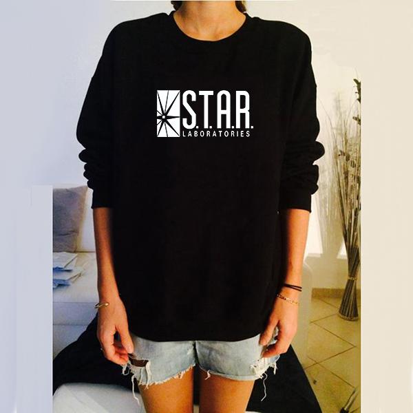 Star Lab Sign Sweatshirt 19