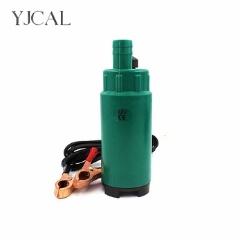 Submersible Diesel Fuel Water Oil Pump Diameter 51MM Plastic DC 12V 24V 30L/Min 60W  Car Camping Portable With Switch submersible diesel fuel water oil suction pump with filter accessories stainless steel dc 12v 24v 30l min 60w car portable