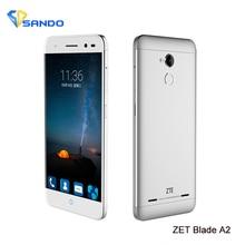 Original ZTE Blade A2 MTK6750 Octa Core 5.0 inch HD 2GB 16GB Android 5.1 13MP Dual SIM Fingerpri Mobile phone 4G LTE Smartphone