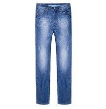 Верблюд горячая распродажа новый 2016 мода джинсовой жан прямые мужские брюк тонкий свободного покроя мужские джинсы бесплатная доставка X6X269113