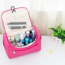 New patternMakeup bag Cheap Women Bags Waterproof Nylon Travel Cosmetic Bag Organizer Case Necessaries Make Up Wash Toiletry Bag