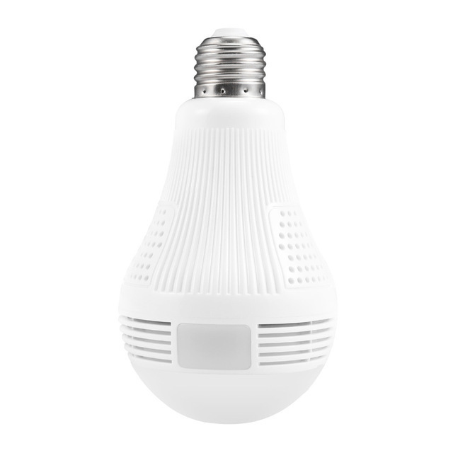 360 Degree LED Light 960P Wireless Panoramic Home Security Security WiFi CCTV Fisheye Bulb Lamp IP Camera