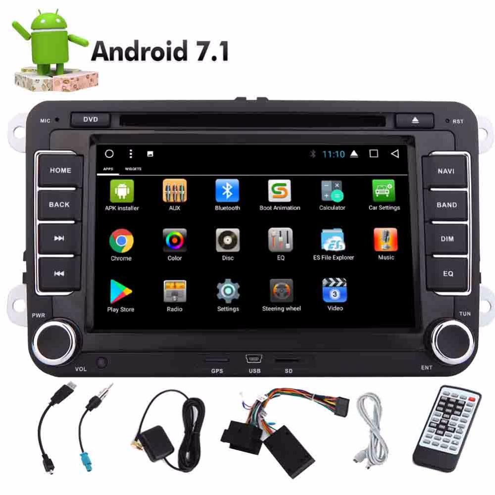 android 7 1 eincar 8 core 2 din car stereo autoradio. Black Bedroom Furniture Sets. Home Design Ideas