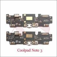 1 stücke Für Coolpad Dazen Note3 Hinweis 3 8676-M01 USB Dock Lade ladung Port flex board Reparatur Teile