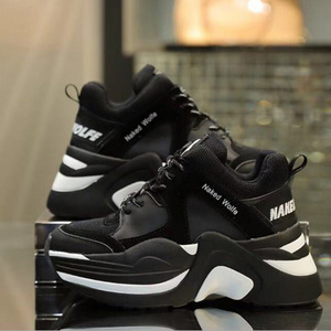 Image 4 - Brand luxury shoes Retro Casual women sneakers spring summer the new hot sale Thick sole Ladies shoes Comfortable breathable