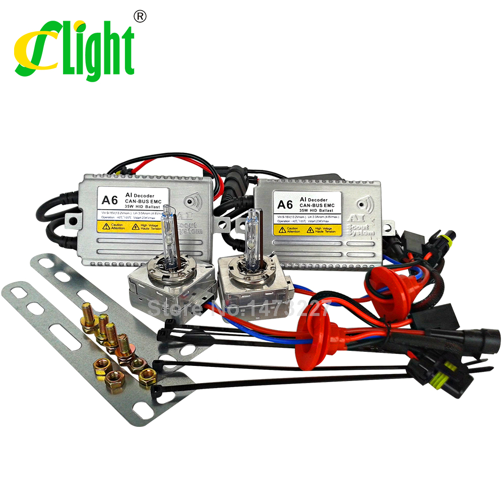 D5S xenon hid kit 12V 35W 5500K for VW Tiguan 2013/14 KIAs K3 SKODAs New Superb BUICKs XT EXcelle D5S canbus hid xenon kit