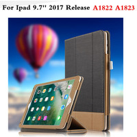 For New Apple IPad 9 7 Inch 2017 A1822 A1823 Tablet PC Fashion PU Leather Business