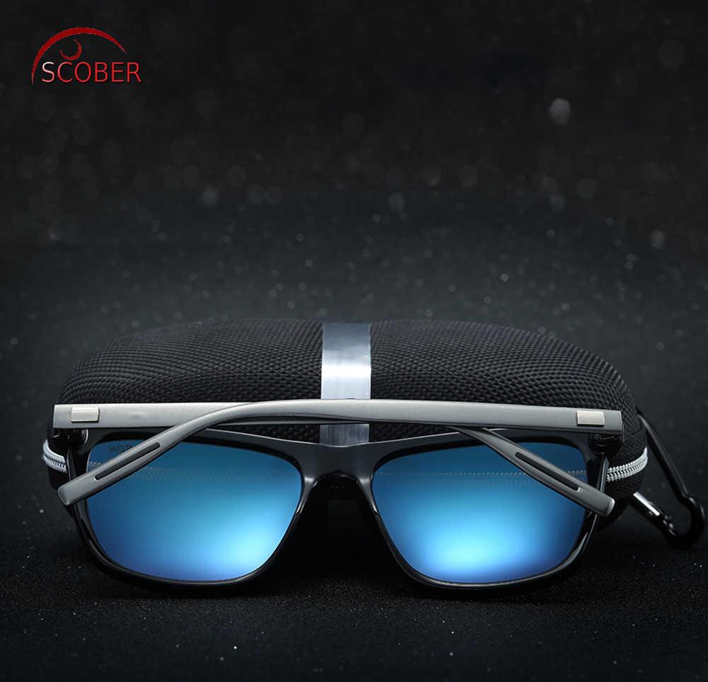 735ac3fde4 ... Retro Square Al-mg Leg men women polarized sun glasses polarized  sunglasses Custom Made Myopia ...