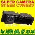 Для Sony CCD Audi A4 A3 A6L Q7 Автомобилей Резервного Копирования для Парковки заднего Вида Камера Заднего Багажника ручка Датчик Системы Безопасности Kit для GPS