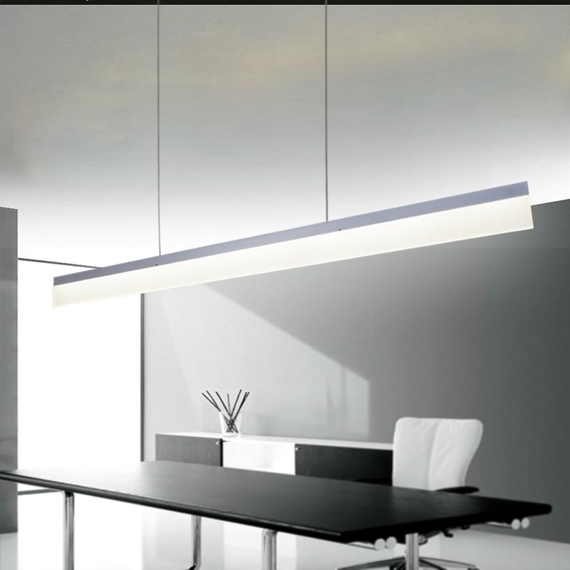 Moderno Lmparas colgantes para comedor acrlico abajur lamparas