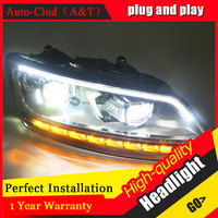 Auto Clud Car Styling For VW POLO Headlights 2011 2017 For Polo Head Lamp Front Bi