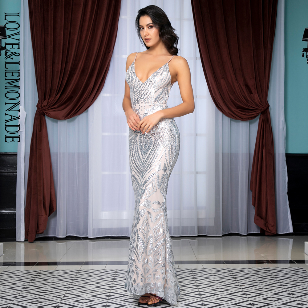 שמלת פאייטים IOW פתוח