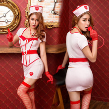 New Porn Women Lingerie Sexy Hot Erotic White Nurse Costume Cosplay Sexy Underwear Erotic Lingerie Porno Costumes Role Play