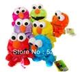 Free shipping 7pcs/lot 18cm America sesame street elmo plush toy doll colorful/kids gift