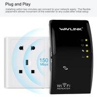 Kablosuz WIFI Tekrarlayıcı Yüksek Güç Wi-Fi Sinyal Aralık Genişletici wifi Sinyal Amplifikatör Booster AP/Tekrarlayıcı 802.11N/B/G WPS Wavlink