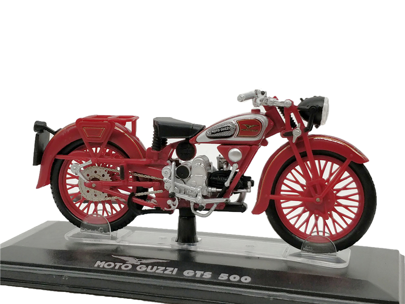 1:24 Starline Model Bike MOTO GUZZI GTS-500 Diecast Miniature Motorcycle автосигнализация без автозапуска starline a63