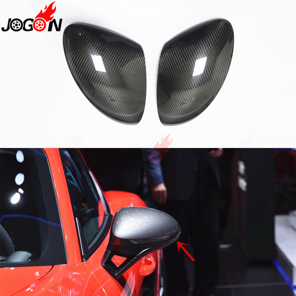 For Maserati Levante 2016-2019 Side Rearview Mirror Frame Cover Trim