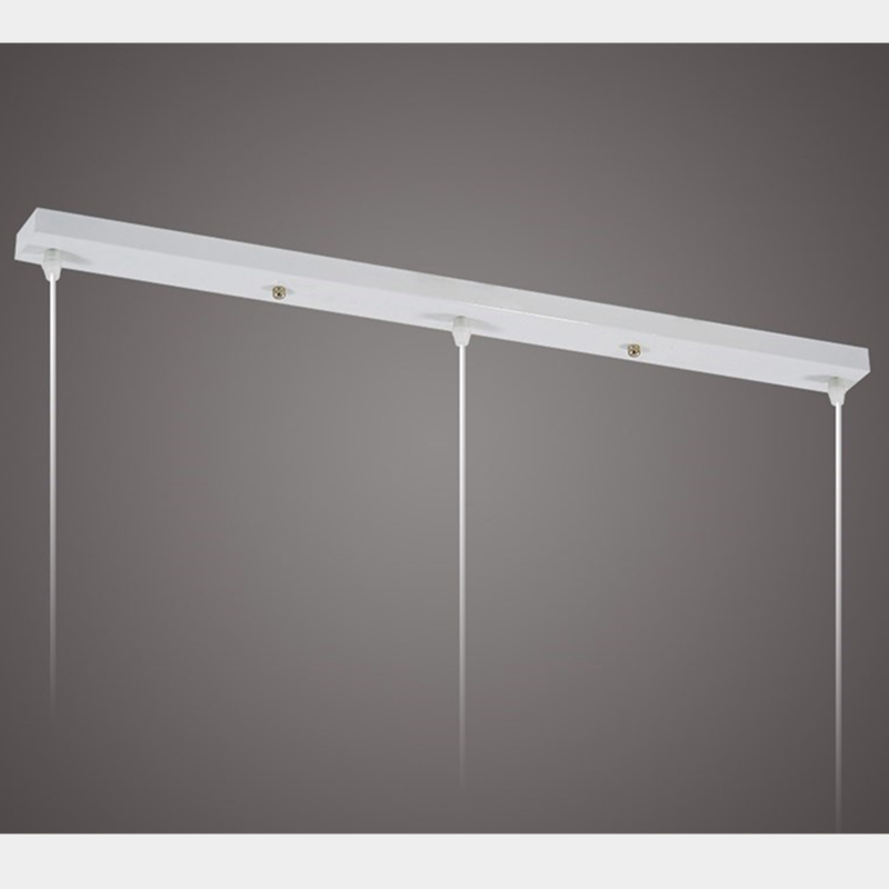 Getting To Grips With Ceiling Lighting: White Light Bar With Cord Grip For DIY Pendant Light Wall Sconce Mount Ceiling Lamp Base And
