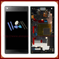 For Sony Xperia Z5 Mini Z5 Compact  LCD Display with Touch Screen Digitizer with Frame Black + Tool Free Shipping