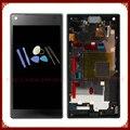 Para sony xperia z5 mini z5 compacta pantalla lcd con pantalla táctil digitalizador con marco negro + herramienta de envío gratis