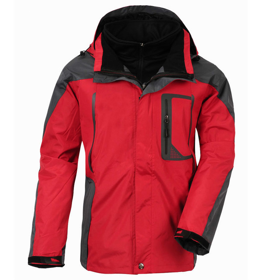 Mortonpart Ski Jacket Men Brand Snowboard Winter Mountain Skiing Clothes 6 Colors Waterproof Windproof 3 in 1 Warm Jackets