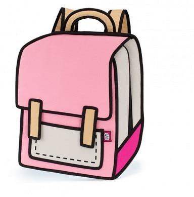 Nieuwe Collectie 2016 Nieuwe Candy Kleur 2D/3D Cartoon Rugzakken Schooltassen Voor Tieners Nylon gismo jump bagpack bolsa feminina
