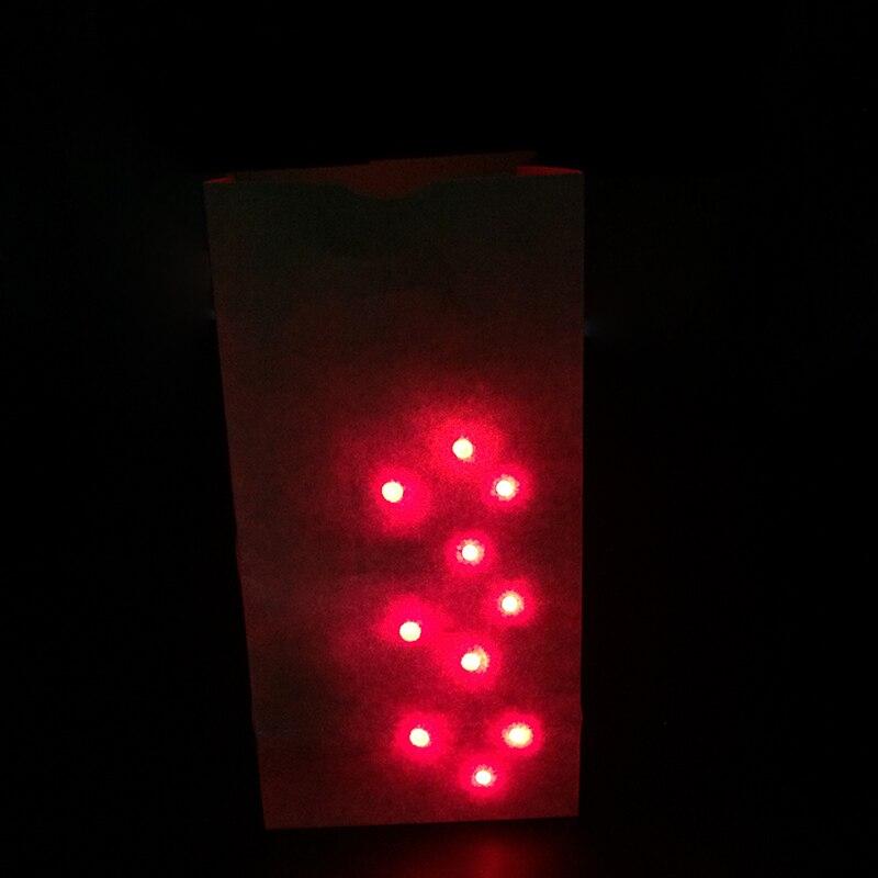 1 satz Tasche O Lites leuchten umfassen finger licht zaubertricks für close up magic spielzeug mentalismus bar show illusion tour magie