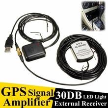 Amplificador de Antena GPS Navigator 5 M/16FT Coche Amplificador Repetidor de Señal de Transmisión Y Recepción para el Teléfono Del Coche de Navegación GPS sistema