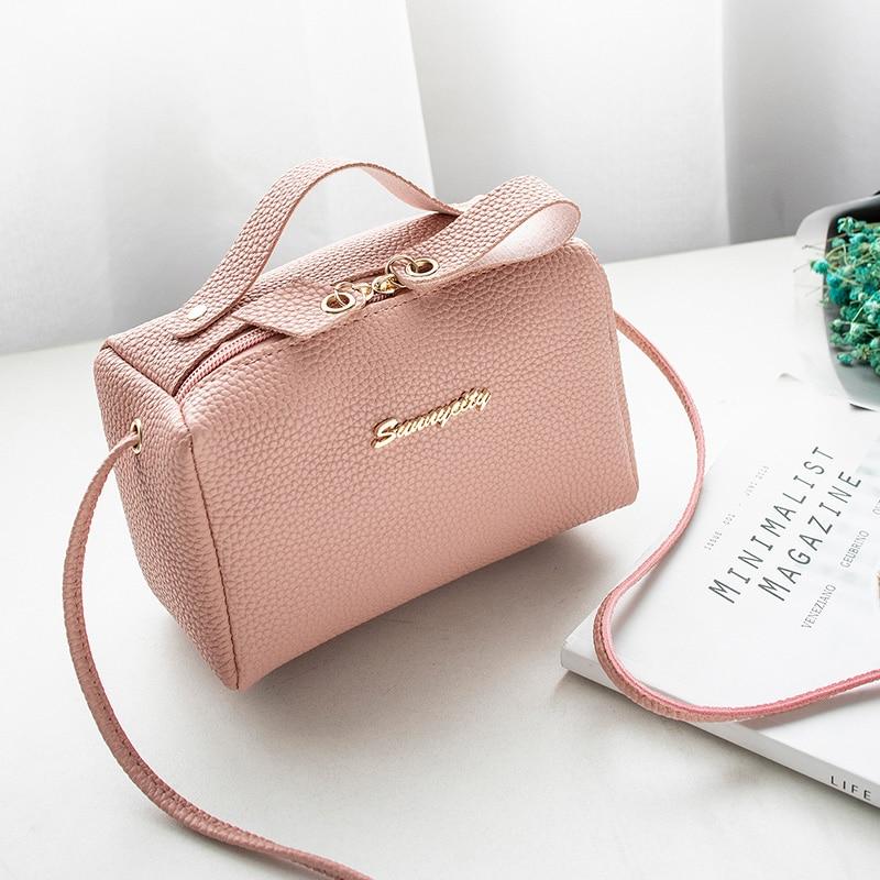 Bags For Women's Handbag Bucket Bag Small Purse Cell Phone Shoulder Bag Cute Solid Fashion Cross Body Zipper Bags Purse