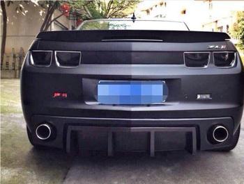 BLACK PU черный праймер Автомобильный задний бампер для губ автомобильный спойлер задняя крышка диффузора для Chevrolet Camaro 2010 2011 2012 2013 2014 2015 >> GXC.188 Store