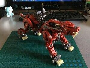 Image 4 - BT 1/72 ZOIDS Saber Tiger GundamประกอบอะนิเมะAction Figureของเล่นชุดวันเกิดคริสต์มาสของขวัญ