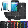 Case For Motorola Moto X Style/Pure Edition XT1572 XT1570 Armor Heavy Duty Hybrid Stand Dual Protective Cover Case+Stylus+Film