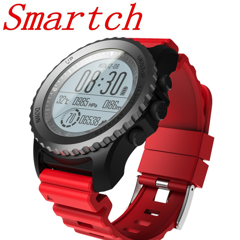 Smartch Sport Watch S968 Mens Bluetooth Smart Watch Support GPS Air Pressure Call Heart  ...