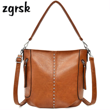 Female Handbags Party Big Solid Lock Zipper Nylon Leather Designer High Quality Black Fashion Bags Bolsa