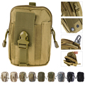 10 colors 1000D Tactical Molle Oxford Waist Belt Bags Wallet Pouch Purse Outdoor Sport tactica Waist Pack EDC Camping Hiking Bag