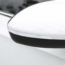 Защитная лента от царапин для автомобильной двери, резиновая наклейка, Автомобильное зеркало заднего вида, Защитная пленка для переднего и заднего бампера, универсальная обшивка