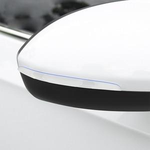 Image 1 - Car Door Edge Guard Scratch Strip Protector Rubber Sticker Auto Rearview Mirror Front Rear Bumper Protection Film Universal Trim