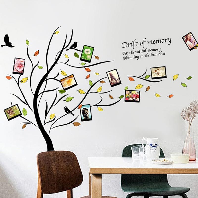 DIY Familie Fotorahmen Baum Wandaufkleber Wohnkultur Wohnzimmer Schlafzimmer  Wandtattoos Poster Home Dekoration Tapete In Wall Stickers From Home U0026  Garden ...