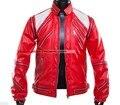 Spike! cuerpo corto del hombre juventud Original diseño popular Rendimiento Etapa de moda chaqueta fresca 26 de la cremallera de costura abrigo de empalme